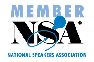 Proud Member of the National Speaker's Association