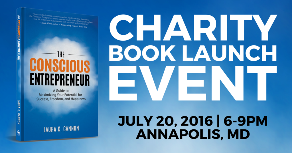 Charity Book Launch Event 7/20/2016