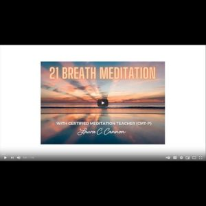 Guided Meditation - 21 Breath Meditation